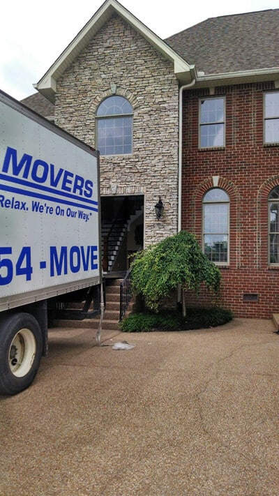 Moving into house